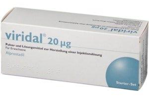 Viridal Duo Alprostadil-Injektionen